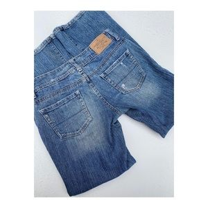 Vtg 90s American Eagle Jeans Low Rise Distressed